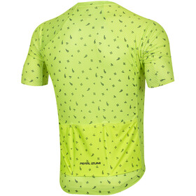 PEARL iZUMi P.R.O. Mesh Maillot de cyclisme Homme, screaming yellow/navy paisley